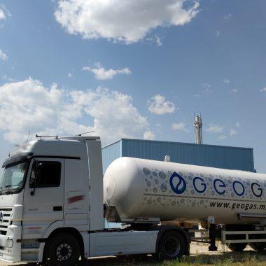 Geo Gas transport co2